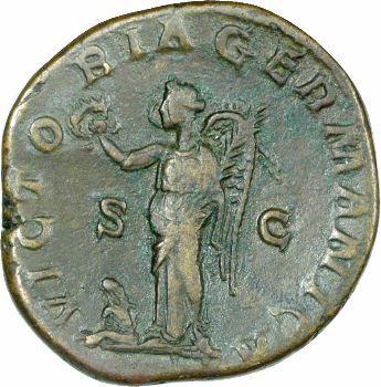 Maximin Ier le Thrace, sesterce, Rome 236-238