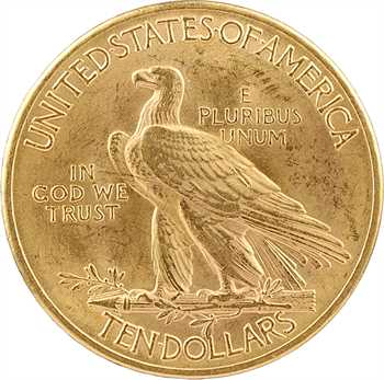 États-Unis, 10 dollars, Tête d'indien, 1932 Philadelphie