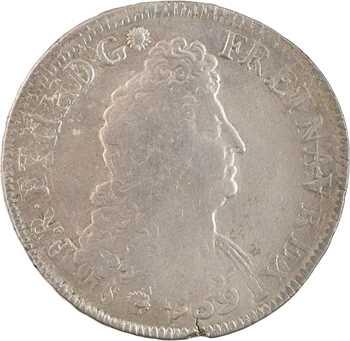 Louis XIV, écu aux huit L, 2e type, 170? Bordeaux
