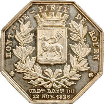 Rouen (ville de), Mont de piété, 1847 Paris