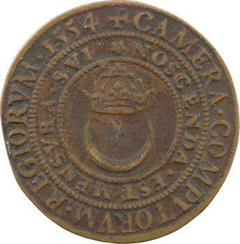Henri II, chambre des comptes, 1554 Paris