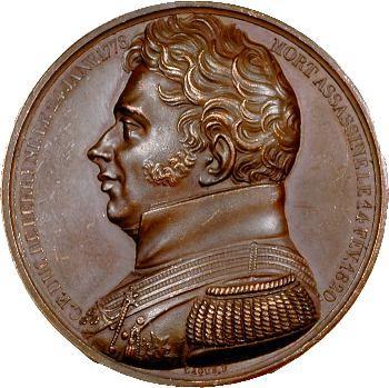 Duc de Berry, dépôt du cœur du duc de Berry à Rosny, 1820 Paris
