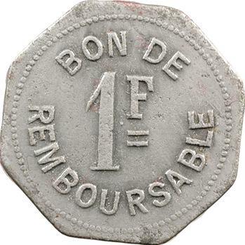Comores, Société anonyme de la Grande Comore, 1 franc, s.d