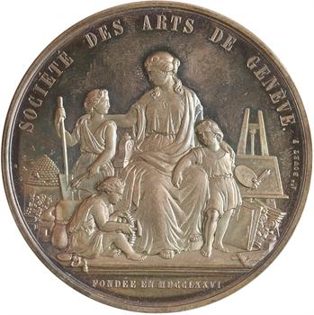 Suisse, Genève, prix de la Société des Arts, par Bovet, 1885