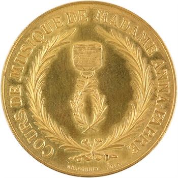 IIIe République, cours de musique de Mme Anna Fabre, Massonnet éditions, s.d