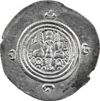 Royaume Sassanide, Chosroès II, drachme, An 37 (c.628) Nahr-Tirè