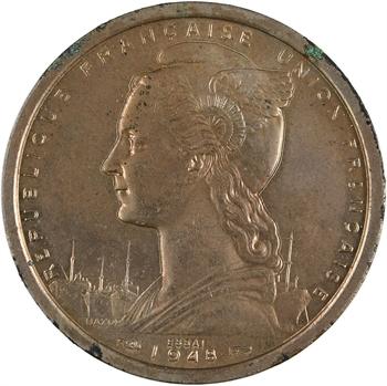 Cameroun, Union française, essai de 2 francs, 1948 Paris