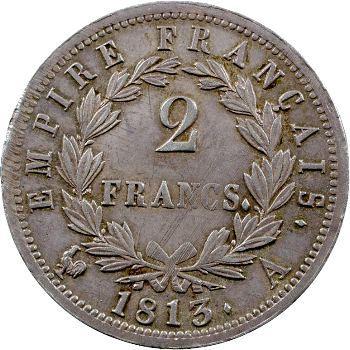 Premier Empire, 2 francs Empire, 1813 Paris