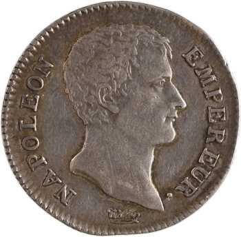 Premier Empire, 1 franc calendrier grégorien, 1806 Bayonne