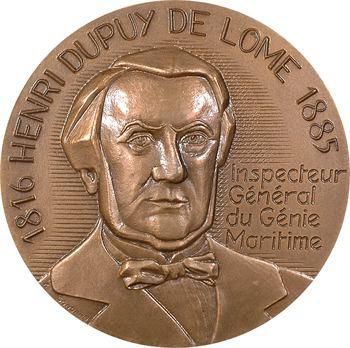 Ve République, Henri Dupuy de Lome (Génie Maritime), par Gondard, 1985 Paris