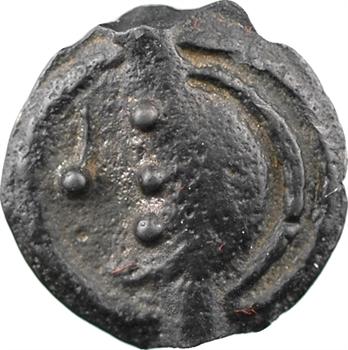 Aulerques Éburovices, potin au sanglier enseigne, c.60-50 av. J.-C