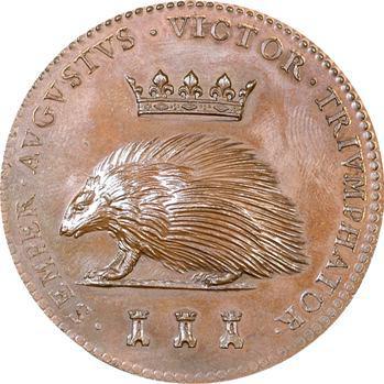 Louis XII, médaille au porc-épic, s.d. (refrappe XIXe s.)