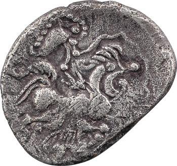 Baïocasses, statère aux sangliers, classe I au profil de style figuratif, c.50 av. J.-C.