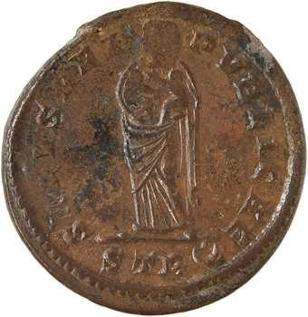 Fausta, nummus, Trèves, 2e officine, 326
