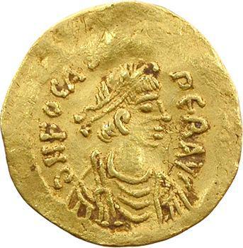 Phocas, semissis, Constantinople, 607-610