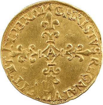 Charles IX, écu d'or au soleil, 1573 Paris