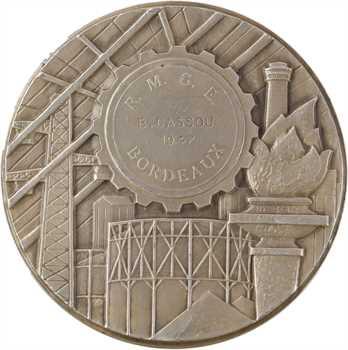 IVe République, la Régie Municipale du Gaz et d'Électricité de Bordeaux, par Simon, 1947 Paris