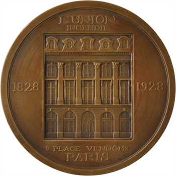 Assurances : l'Union, place Vendôme, par Niclausse, 1928 Paris