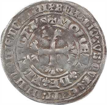 Flandre (comté de), Louis de Male, double gros dit botdraeger, s.d. (1346-1384)