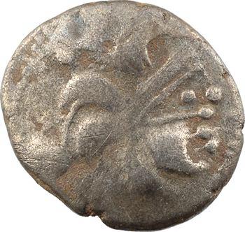 Baïocasses, statère d'argent au sanglier, c.IIe-Ier s. av. J.-C.