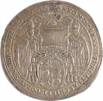 Autriche, Salzbourg (archevêché de), Max Gandolph, thaler, 1682