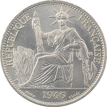 Indochine, essai de 50 centièmes, 1946 Paris