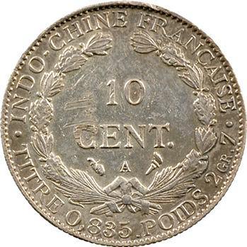 Indochine, 10 centièmes, 1914 Paris