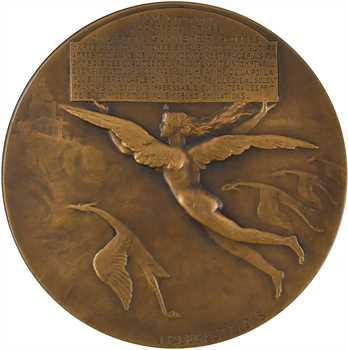 Ire Guerre mondiale : Guynemer, par Legastelois, 1917 Paris
