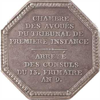 Consulat, Chambre des avoués du tribunal de Première instance, 1801 Paris