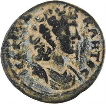 Lydie, Saitta, époque de Marc-Aurèle ? monnayage pseudo-autonome, bronze AE25, c.150-200