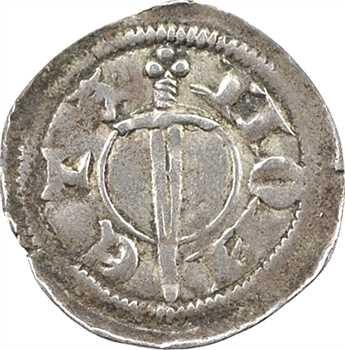 Toul (évêché de), Anonymes du temps d'Otton de Granson, Guy de Pernes et Eudes Colonna, denier, Brixey ? s.d. (1306-1309)