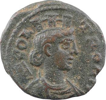 Troade, Alexandrie (pseudo-autonome), époque de Gallien, as ou AE20, c.260-268