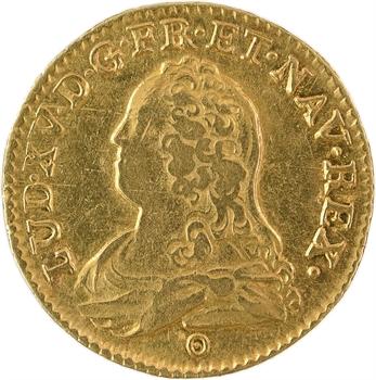 Louis XV, louis aux lunettes, 1732/1 Tours