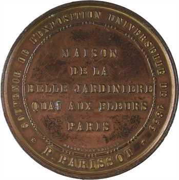 Second Empire, la Belle Jardinière à l'Exposition Universelle, 1855 Paris