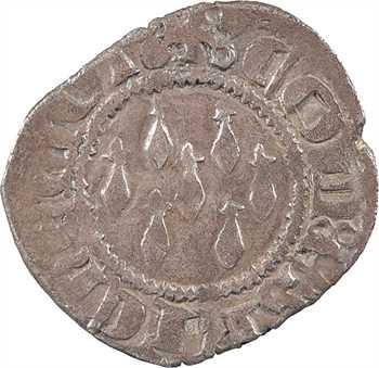 Bretagne (duché de), Jean IV, demi-gros aux sept mouchetures, s.d. (avant 1350)