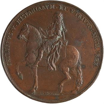 Italie/Espagne, Philippe V, visite du Roi à Naples, 1702 Naples