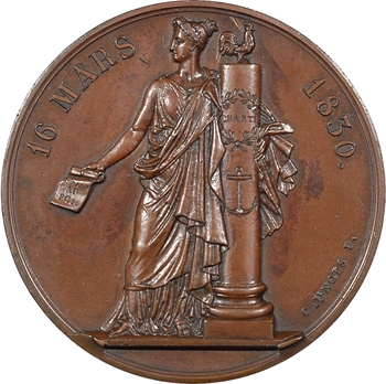 Charles X, l'Adresse des 221, par Caunois, 1830 Paris