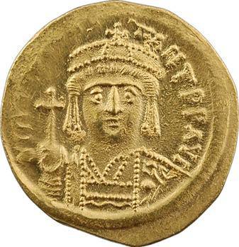 Tibère II Constantin, solidus, Constantinople, 7e officine, 578-582