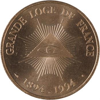 Grande Loge de France, REEA, 1894/1994