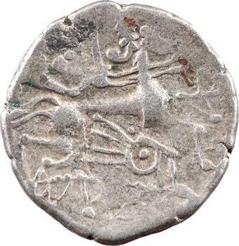 Coriosolites, statère de billon, classe V au nez en crosse, c.80-50 av. J.-C.