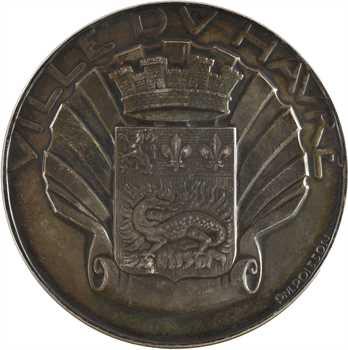Poisson (P.-M.) : Ville du Havre, en argent, s.d. Paris
