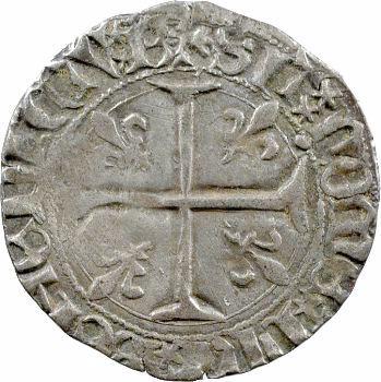 Charles VII, blanc aux trois lis 1re émission, Bourges