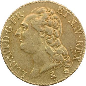 Louis XVI, louis d'or à la tête nue, 1785 Paris