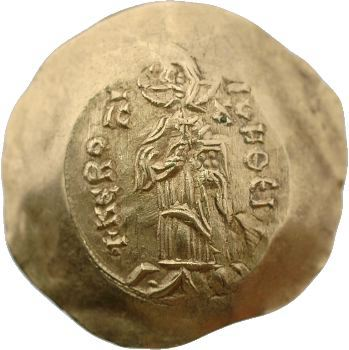 Alexis III, hyperpyron d'or, Constantinople, 1195-1203