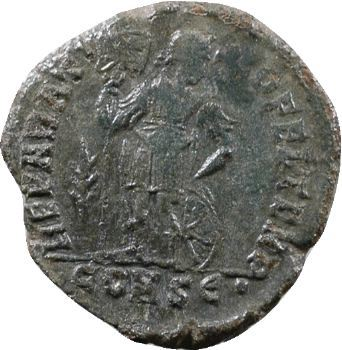 Procope, nummus, Constantinople, 365-366