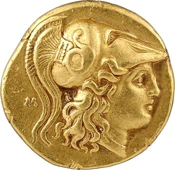 Macédoine, Philippe III (au nom d'Alexandre le Grand), statère, Babylone, c.323-317 av. J.-C