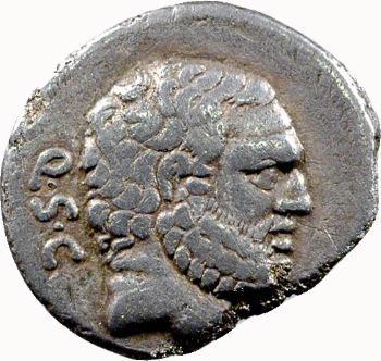 Cornelia, denier, Rome, 74 av. J.-C.
