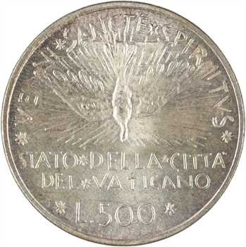 Vatican, siège vacant, 500 lire, 1978 Rome