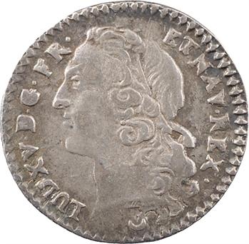 Louis XV, vingtième d'écu au bandeau, 1769 Metz