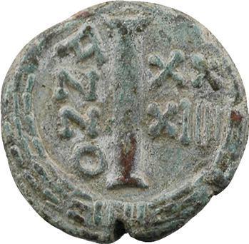 Justinien Ier, decanummium, Ravenne, An XXXIIII = 560-561
